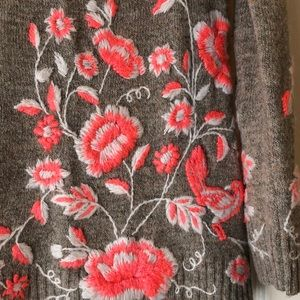 Anthropologie Sweaters - Anthropologie Floral Sweater